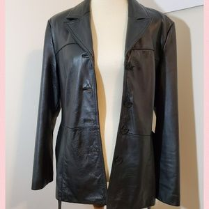 Wilsons Woman's Leather Maxima Coat